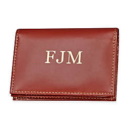 4-Inch Expanding Leather Card Case