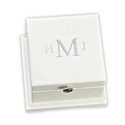 Blanca Keepsake Box in White