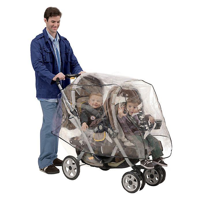 Alternate image 1 for Nuby™ Tandem Stroller Weather Shield