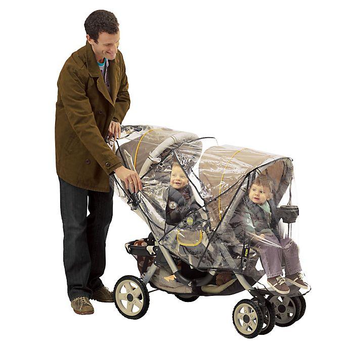 Alternate image 1 for Nuby™ Deluxe Tandem Stroller Weather Shield