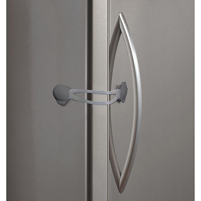 Alternate image 1 for Kidco® 2-Pack Flexible Strap Lock in Grey