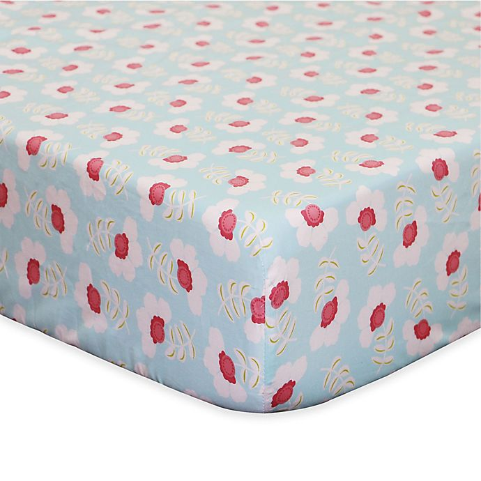 Alternate image 1 for The PeanutShell™ Mila Fitted Crib Sheet