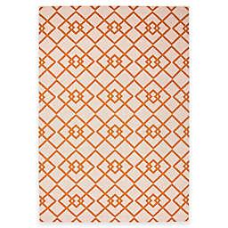 Jaipur Zhane Indoor/Outdoor Area Rug in Taupe/Orange
