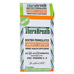 TheraBreath® Immunity Support Throat Lozenge in Mild Citrus/Mint