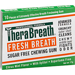 Dr. Katz Therabreath 10-Count Citrus Mint Sugar-Free Chewing Gum