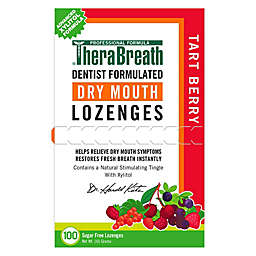 Dr. Katz™ TheraBreath® 100-Count Sugar Free Dry Mouth Lozenges in Tart Berry