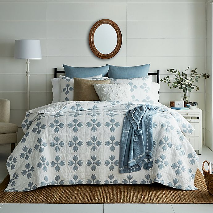 Alternate image 1 for Bee & Willow™ Home Woven Diamonds Bedding Collection