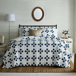 Bee & Willow™ Home Home Quilted Diamonds 3-Piece King Quilt Set in Navy
