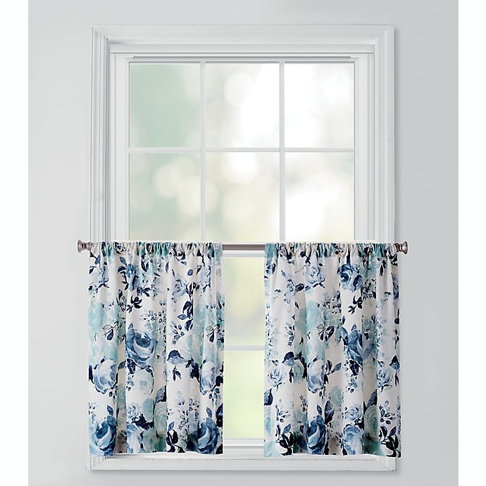 Alternate image 1 for Bee & Willow Home™ Vintage Rose Rod Pocket Window Curtain Tier Pair