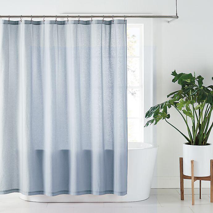 Alternate image 1 for Nestwell™ Solid Hemp Shower Curtain