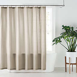Nestwell™ 72-Inch x 72-Inch Solid Hemp Shower Curtain in Dove