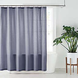 Nestwell™ 72-Inch x 98-Inch Solid Hemp Shower Curtain in Folkstone Grey
