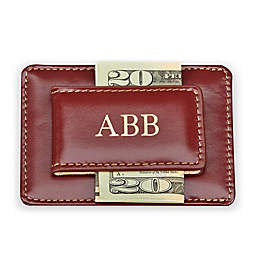 Leather Card Case and Money Clip