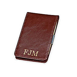 Leather Folding Case with Money Clip
