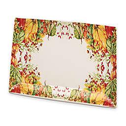 Boston International Calabaza Rectangular Ceramic Platter