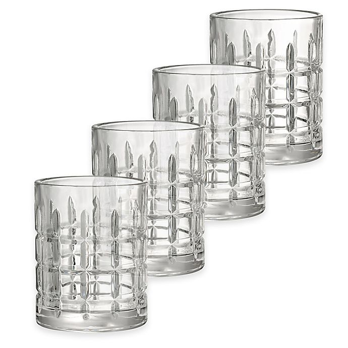 Alternate image 1 for Artland® Newport Double Old Fashioned Glasses (Set of 4)