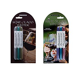 Wine Glass Writer 3-Pack Washable Markers
