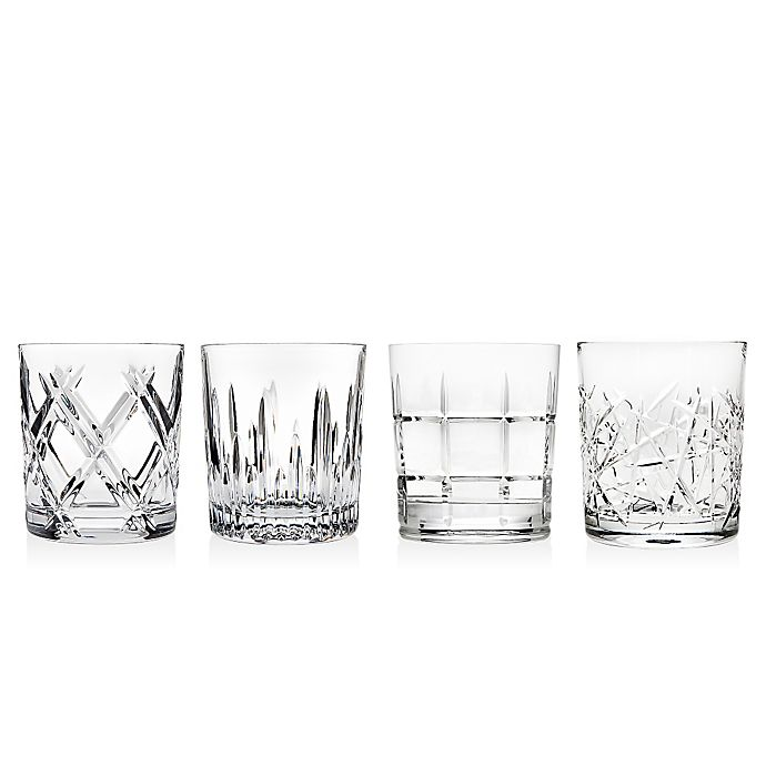 Alternate image 1 for Top Shelf Mingle Double Old Fashioned Glass (Set of 4)
