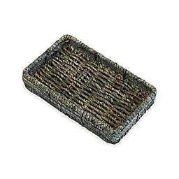 Baum Christina Binded Maize Guest Towel Holder in Gray