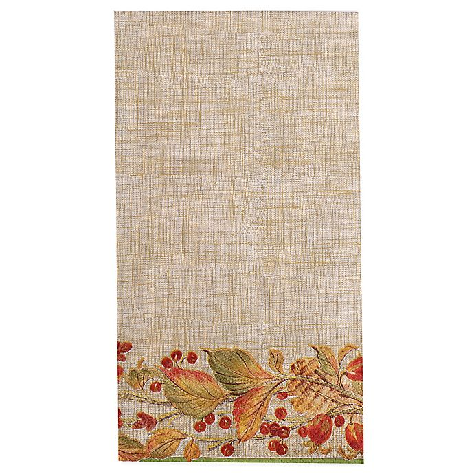 Paper Guest Towels Bathroom: Autumn Garland 15-Count Paper Guest Towels In Beige