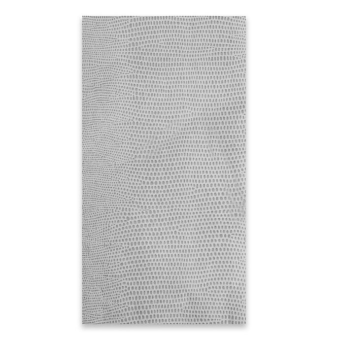 Alternate image 1 for Lizard Print 12-Count Paper Guest Towels in Grey