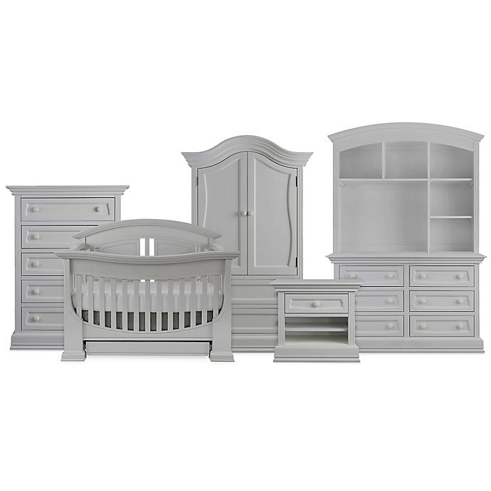 Alternate image 1 for Baby Appleseed® Chelmsford Nursery Furniture Collection in Moon Grey