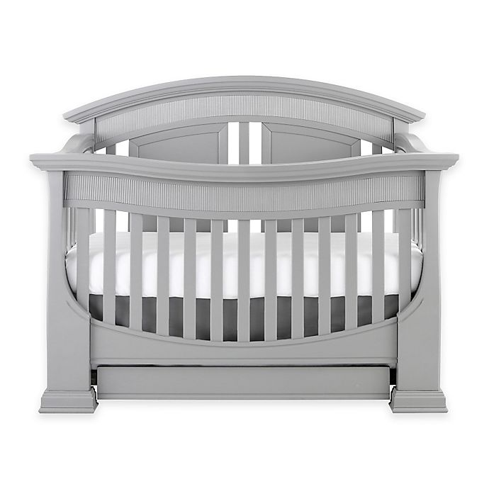 Alternate image 1 for Baby Appleseed® Chelmsford 4-in-1 Convertible Crib in Moon Grey