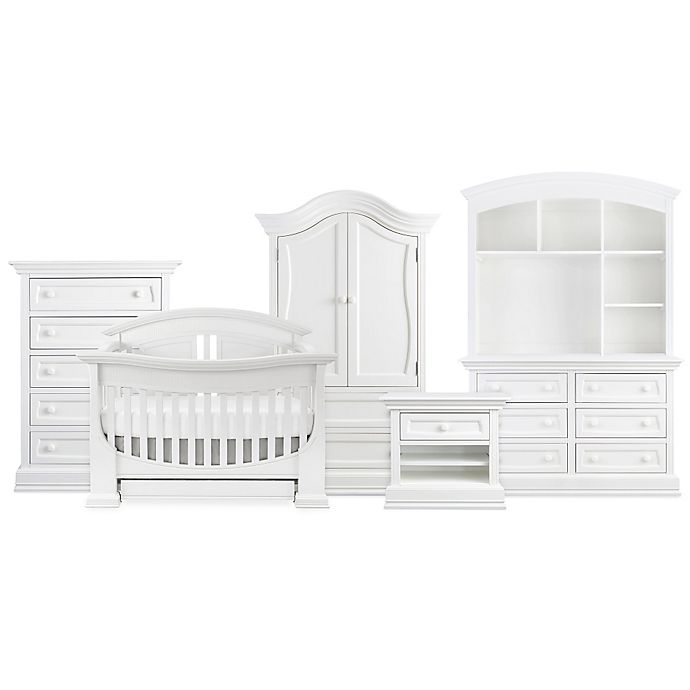Alternate image 1 for Baby Appleseed® Chelmsford Nursery Furniture Collection in Pure White