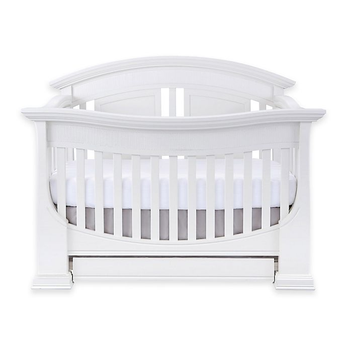 Alternate image 1 for Baby Appleseed® Chelmsford 4-in-1 Convertible Crib in Pure White