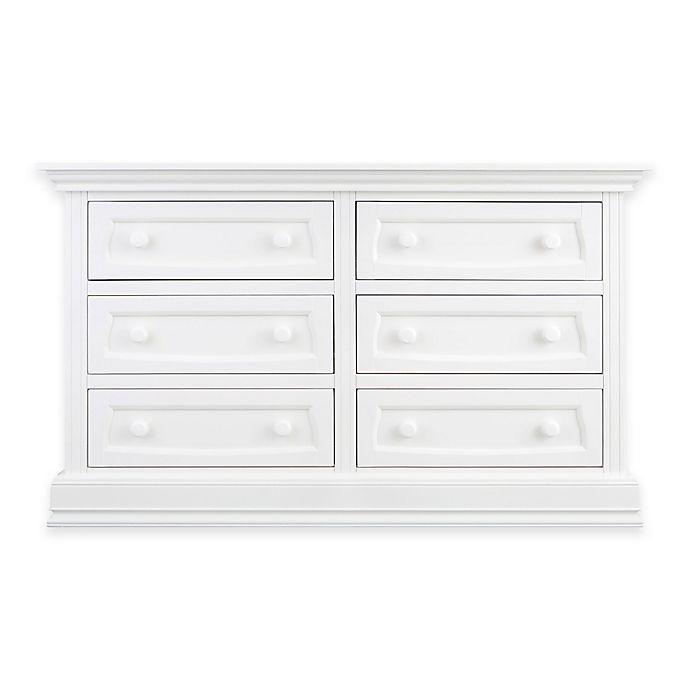 Alternate image 1 for Baby Appleseed® 6-Drawer Double Dresser in Pure White