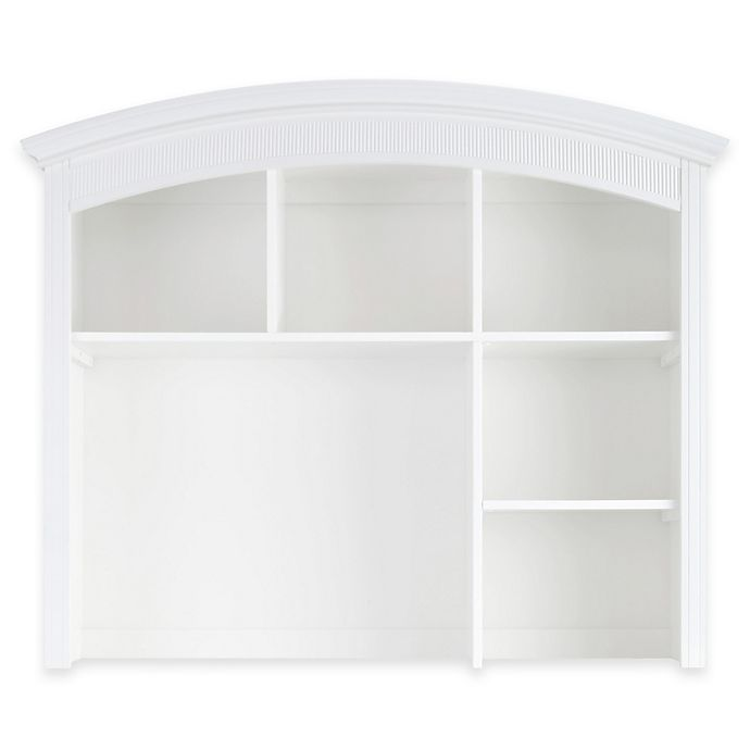 Alternate image 1 for Baby Appleseed® Chelmsford Hutch and Bookcase in Pure White
