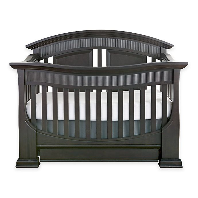 Alternate image 1 for Baby Appleseed® Chelmsford 4-in-1 Convertible Crib in Slate
