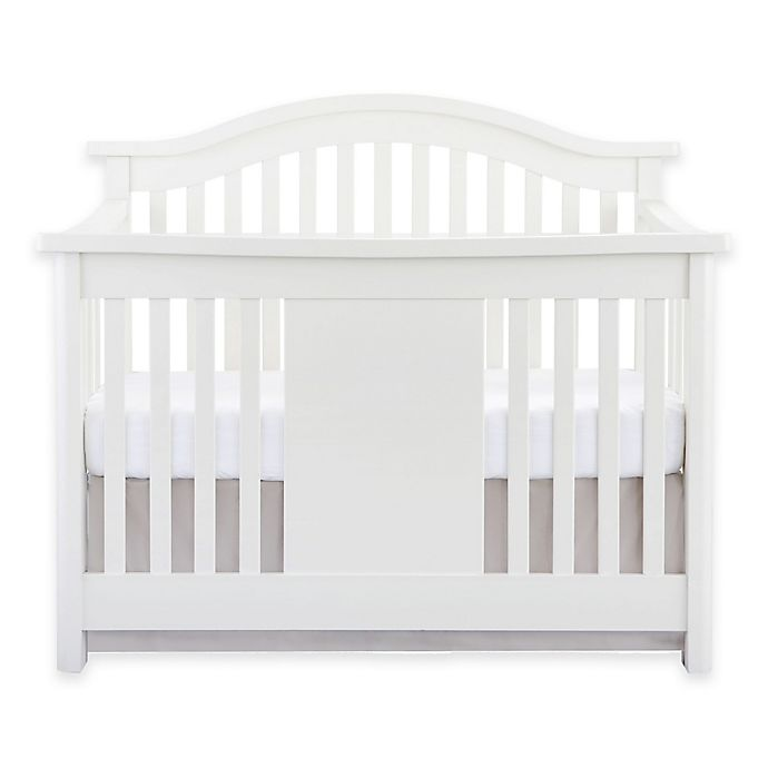 Alternate image 1 for Baby Appleseed® Stratford 4-in-1 Convertible Crib in Pure White
