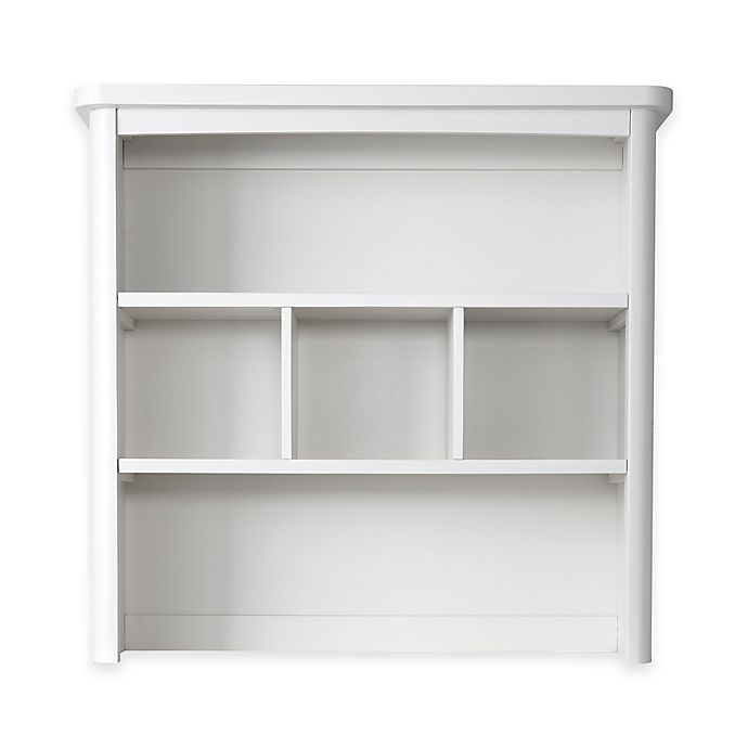 Alternate image 1 for Baby Appleseed® Stratford Hutch and Bookcase in Pure White
