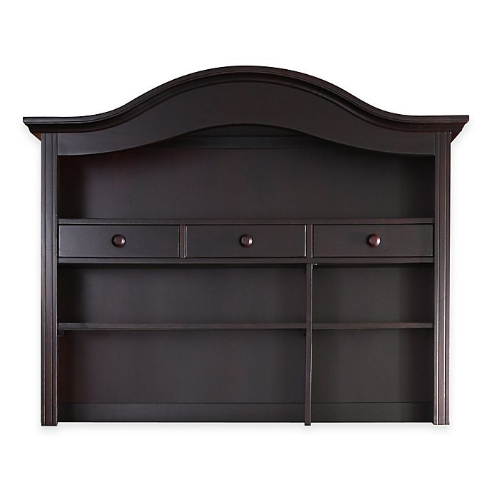 Alternate image 1 for Baby Appleseed® Hutch and Bookcase in Espresso