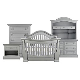 Baby Appleseed® Davenport 4-in-1 Convertible Crib in Moon Grey
