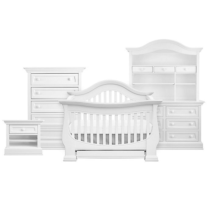Alternate image 1 for Baby Appleseed® Davenport 4-in-1 Convertible Crib in Pure White