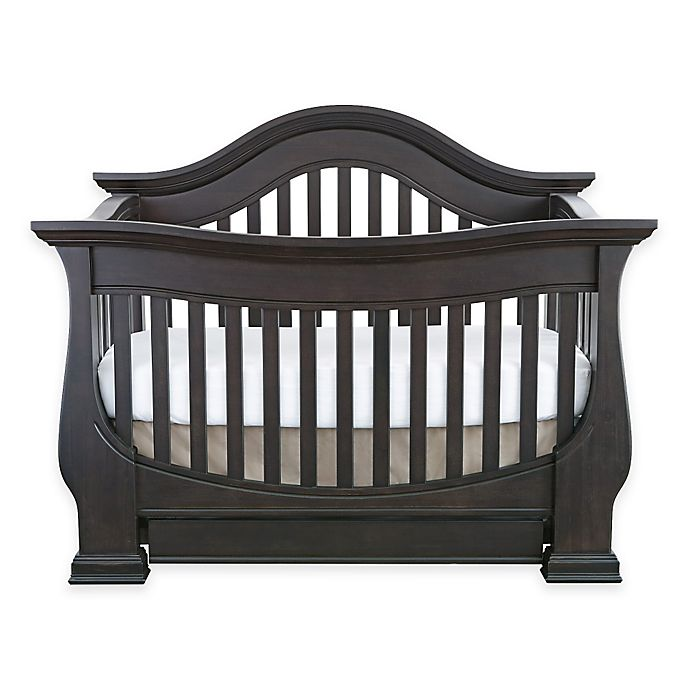 Alternate image 1 for Baby Appleseed® Davenport 4-in-1 Convertible Crib in Slate