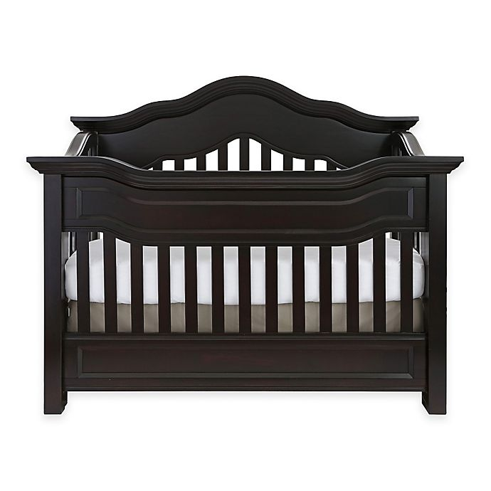 Alternate image 1 for Baby Appleseed® Millbury 4-in-1 Convertible Crib in Espresso