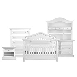 Baby Appleseed® Millbury 4-in-1 Convertible Crib in Pure White