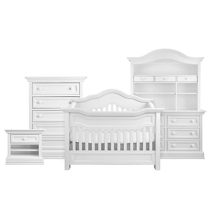 Alternate image 1 for Baby Appleseed® Millbury 4-in-1 Convertible Crib in Pure White
