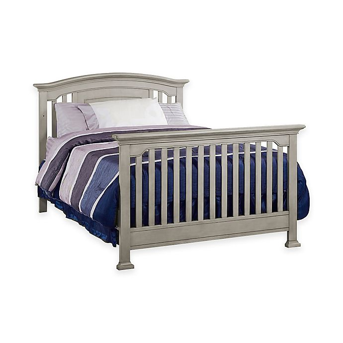 Alternate image 1 for Kingsley Brunswick Full Size Bed Rails in Ash Grey