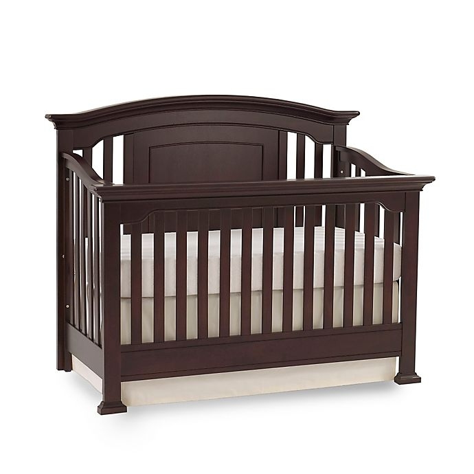 Alternate image 1 for Kingsley Brunswick 4-in-1 Convertible Crib in Espresso
