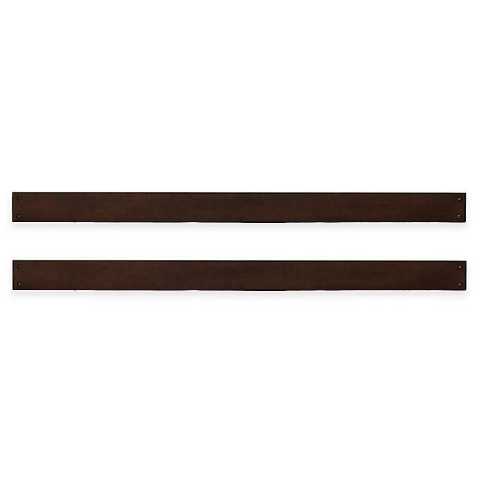 Alternate image 1 for Kingsley Brunswick Full Size Bed Rails in Espresso
