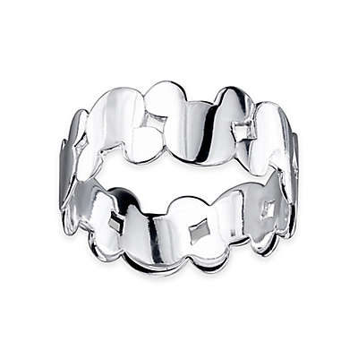Disney® Sterling Silver Mickey Mouse Ladies' Ring