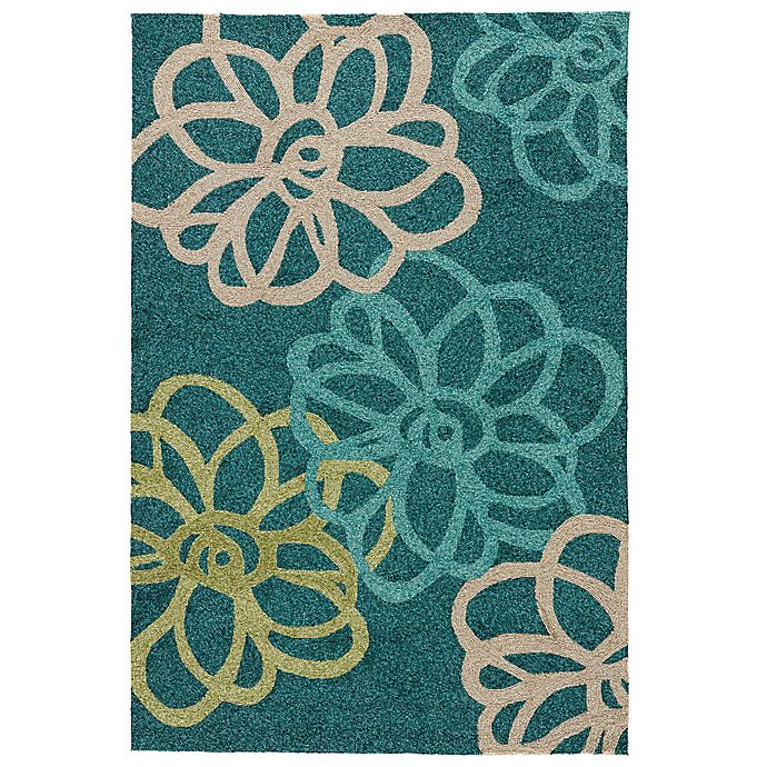 Alternate image 1 for Jaipur Catalina Blossomed Indoor/Outdoor Rug