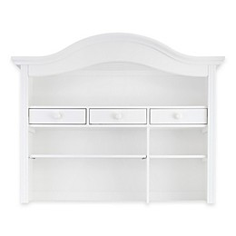 Baby Appleseed® Hutch and Bookcase in Pure White
