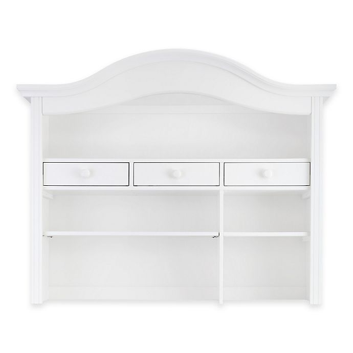 Alternate image 1 for Baby Appleseed® Hutch and Bookcase in Pure White