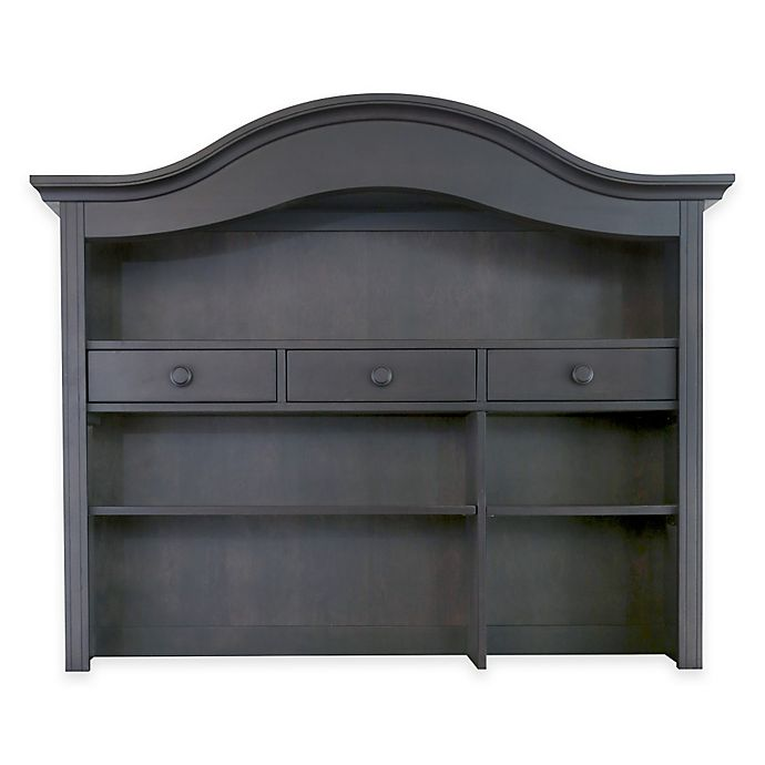 Alternate image 1 for Baby Appleseed® Hutch and Bookcase in Slate