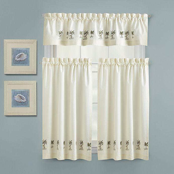 Croscill® Palm Tree Kitchen Window Panel